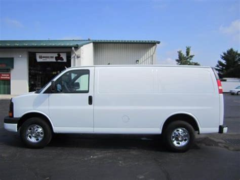 how it works cars 2009 chevrolet express 2500 on board diagnostic system buy used 2009 chevy express g2500 cargo van in oregon ohio united states