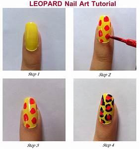 Cosmopolitan India: DIY Colourful Leopard Nail Art Tutorial