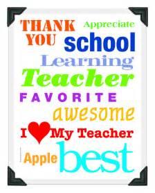Teacher Appreciation Cards Printable