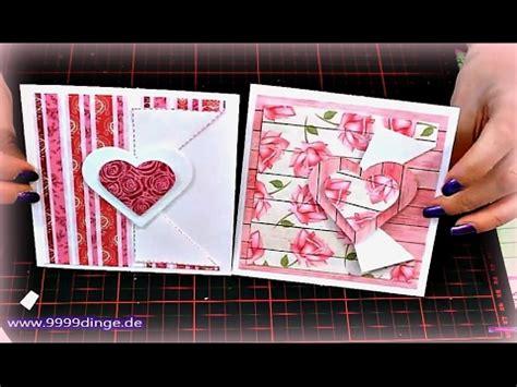 geburtstag karte basteln basteln mit papier diy karte f 252 r geburtstag muttertag anleitung karte basteln herz