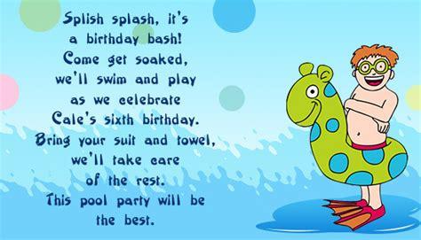 ways  formulate catchy birthday invitation wordings  kids