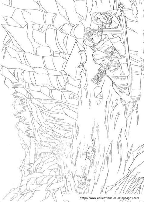 chronicles  narnia coloring pages educational fun