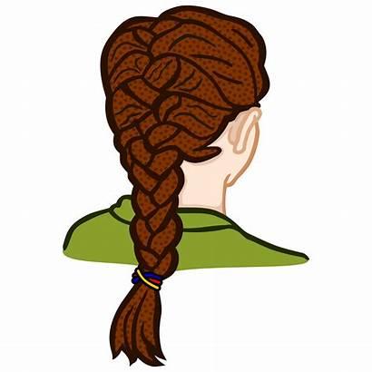 Braid Clipart Braided Hair Clip Zopf French