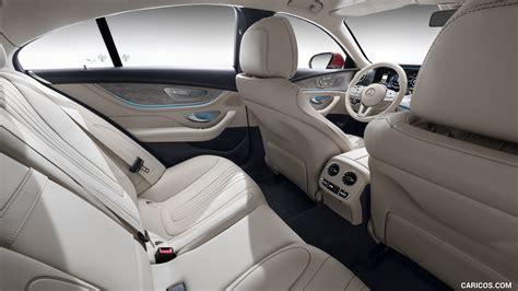 mercedes benz cls interior rear seats hd