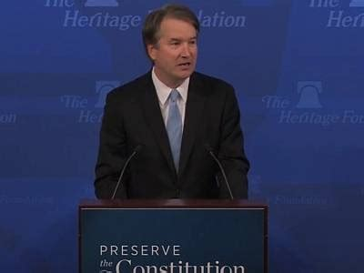SCOTUS Contender Brett Kavanaugh on Gun Rights, Search and