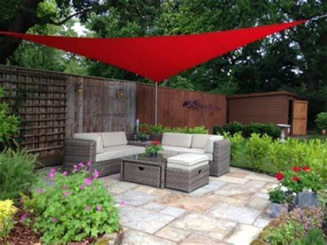 17 best ideas about triangle shade sail on