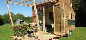 Bausatz Haus Für 25000 Euro : tiny stream das mobile tiny house aus frankreich ~ Sanjose-hotels-ca.com Haus und Dekorationen