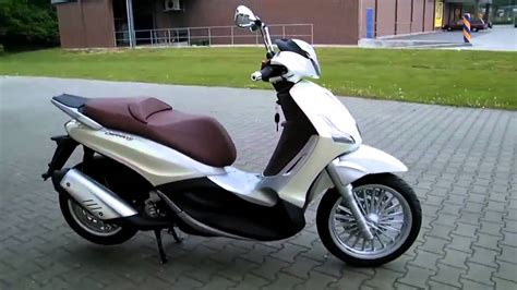 piaggio beverly   rollerscooter  youtube