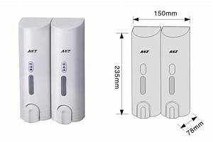 Chrome Plated Double Manual Soap Dispenser