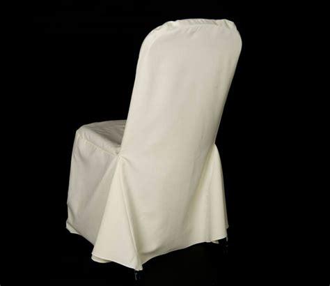 wedding chair cover ivory premium fabric