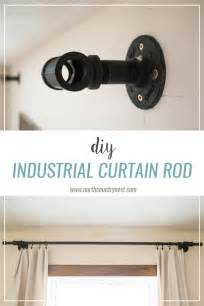 curtain rod extender diy 17 best ideas about bedroom curtains on living