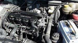 Opel Astra F 1 7d Diesel Starting