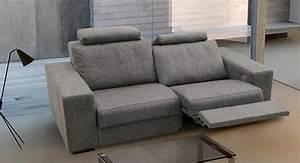 Canapé Avec Repose Pied : canap 2 places avec repose pieds meuble et d co ~ Teatrodelosmanantiales.com Idées de Décoration