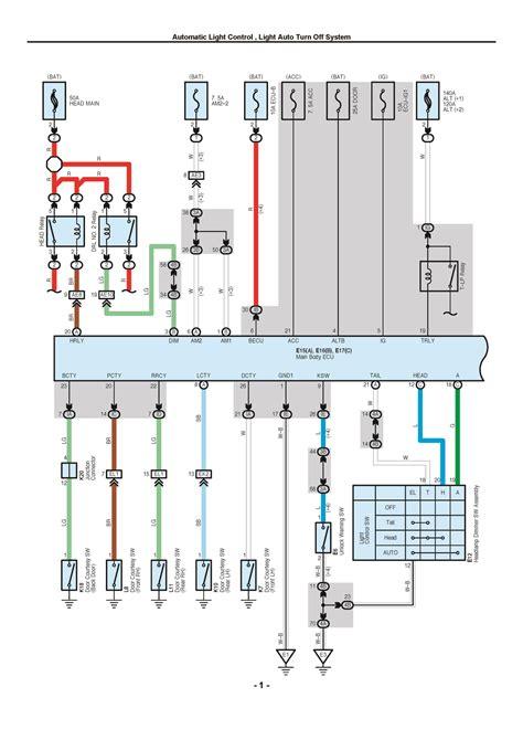 toyota rav oem electrical wiring