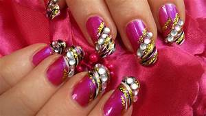 Zebra Print Design for Valentines Day with Hot Pink Gold ...