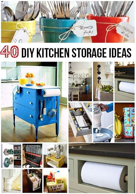 creative kitchen storage solutions click for 40 creative diy kitchen storage ideas 6299