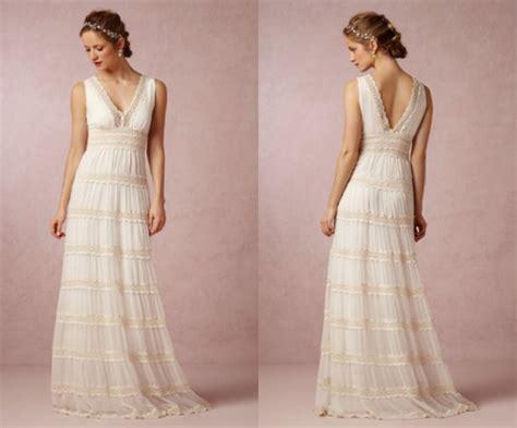 Wedding Dresses For A Backyard Wedding  Rustic Wedding Chic
