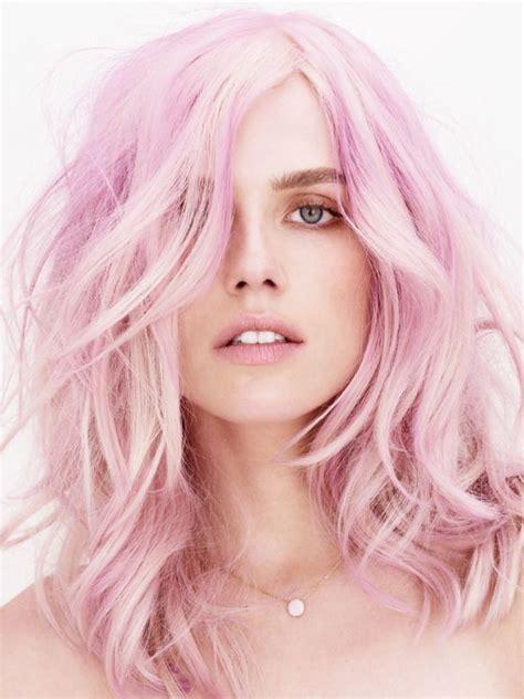 multi colour quartz 14 light pastel pink hairstyles color inspiration