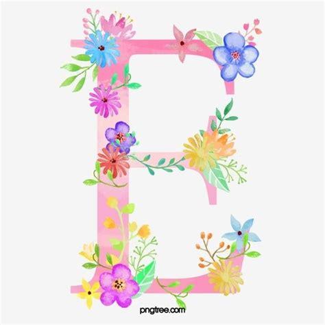 flores en la carta  carta flor mi png  psd  descargar gratis pngtree flower letters