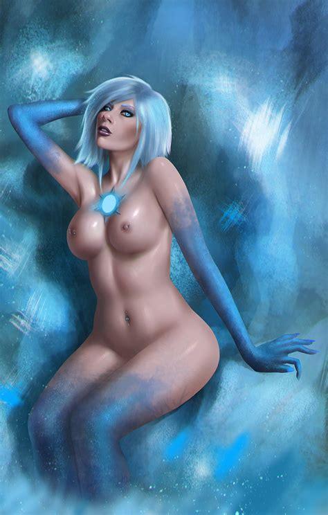 Killer Frost Fan Art Nude By Maximiliandraco Hentai Foundry