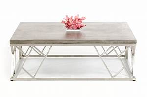 Modrest, Scape, Modern, Concrete, Coffee, Table, -, Coffee, Tables