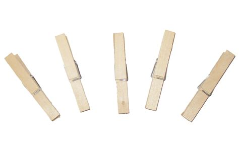 Clip Clothes Wooden Pegs Clipart Clipground