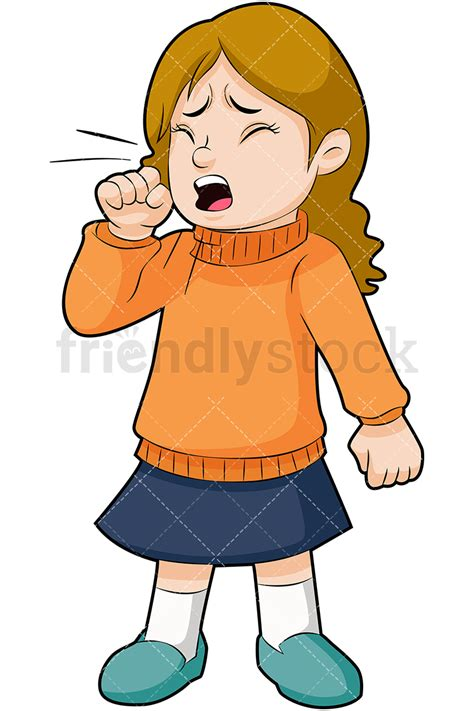Cough Clipart Coughing Vector Clipart Friendlystock