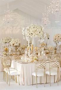 43 glam gold and white wedding ideas happyweddcom With white and gold wedding decor