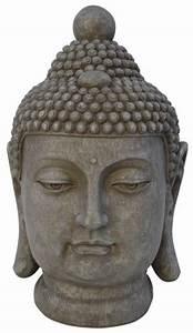 Statue Bouddha Interieur : bouddha t te de statue pour l 39 int rieur et l 39 ext rieur goods and gifts bo tes vin bon ~ Teatrodelosmanantiales.com Idées de Décoration