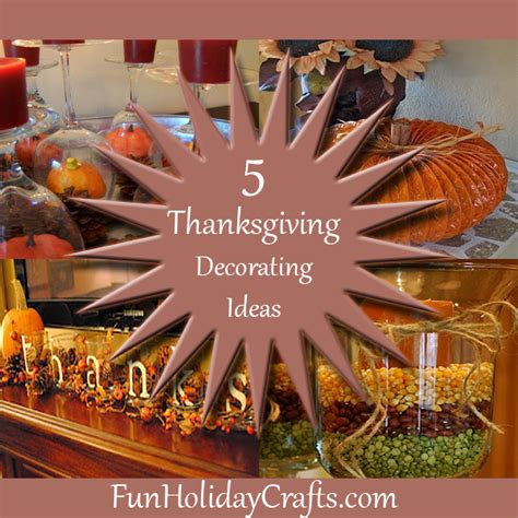 Decorating Ideas Cheap by 5 Cheap Thanksgiving Decorating Ideas