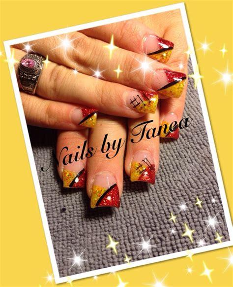 chiefs nails nails  gel nails nailed  tanea
