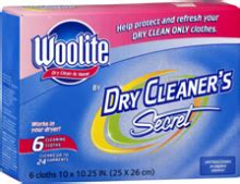 woolite dry cleaner's secret coupon