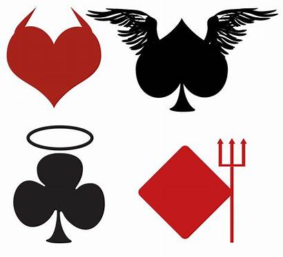 Card Clipart Spade Poker Suits Playing Clip