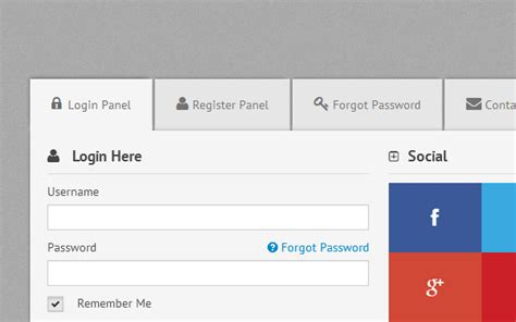 Tabs Control & Tabbed Form (responsive)