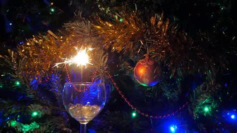 christmas trees with lights already on christmas lights