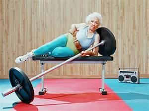 Old People Doing Sport Photography 18 Fubiz Media