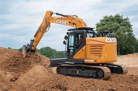 case minimum swing excavator concrete construction magazine