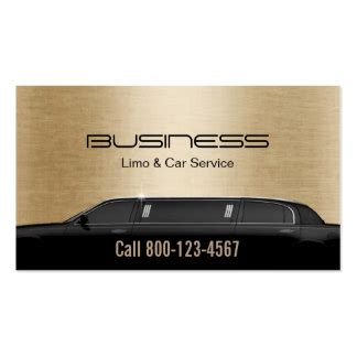 Limo Service Business by Limo Business Cards Templates Zazzle