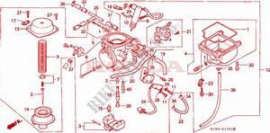 Carburetor For Honda Ch 125 Spacy 1986   Honda Motorcycles