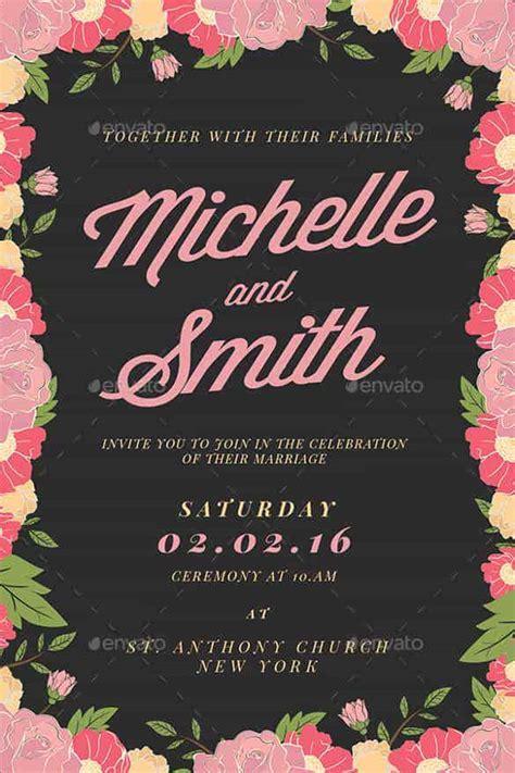 wedding invitation templates psd ai