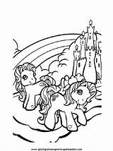 Horse Miniature Coloring Pages Template sketch template