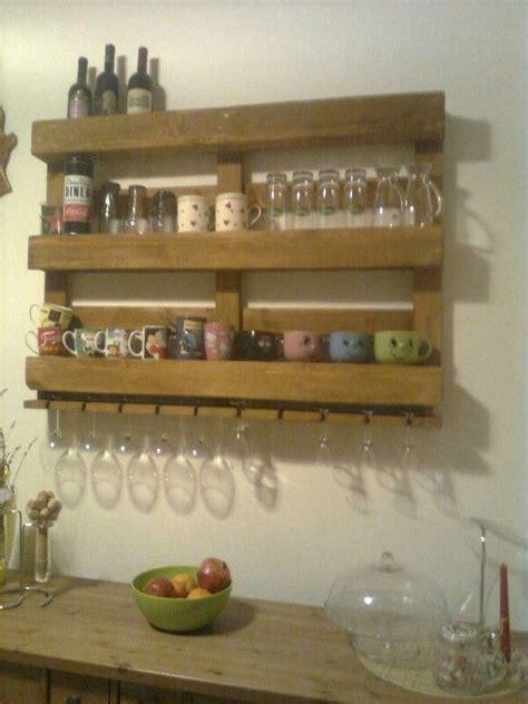 appendi bicchieri bancale porta bicchieri e bottiglie roccaraso