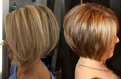 iconic stacked bob haircuts    stylish