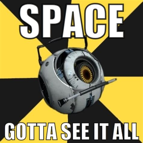 Image 118546 Portal 2 Space Personality Core Know