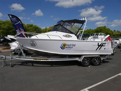 Quintrex Yellowfin Boats by Quintrex Yellowfin 6700 Cabin Offshore Fishing Boat Jv