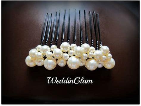 Ivory Pearl Comb, Wedding Comb, Bridal Hair Comb, Wedding