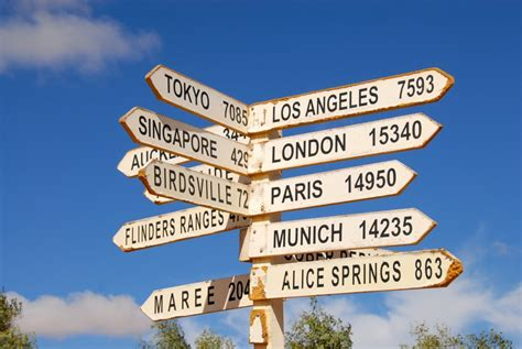 direction sign  australia custom wallpaper