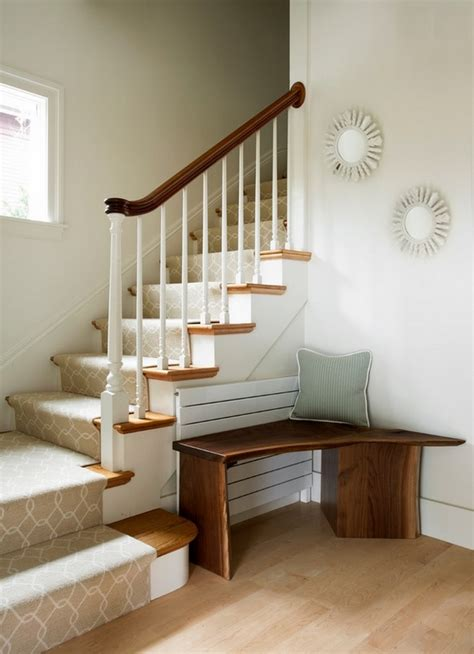 Interior Bench Ideas by Beautiful Interior Staircase Ideas And Newel Post Designs