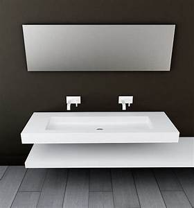 Plan Vasque Bois : plan vasque salle de bain bois id e int ressante pour la conception de meubles en bois qui ~ Teatrodelosmanantiales.com Idées de Décoration