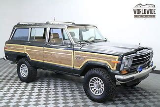 classic jeep wagoneer lifted 1989 jeep grand wagoneer lifted ac ice cold rebuilt v8